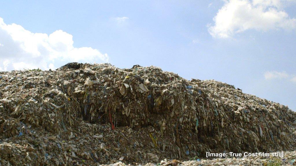 Les déchets textiles un fléau